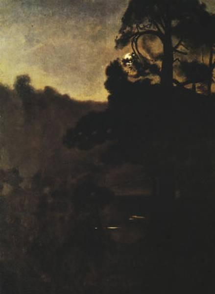 Moonlight night 1906